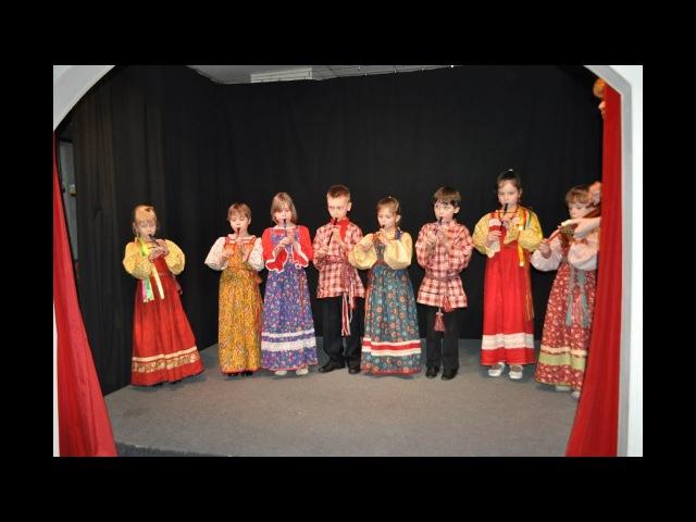Детский фольклор в детском саду Игра на гуслях