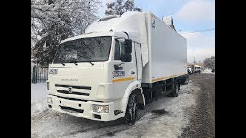 Камаз 4308 фургон рефрижератор со спойлером от Грузтрак