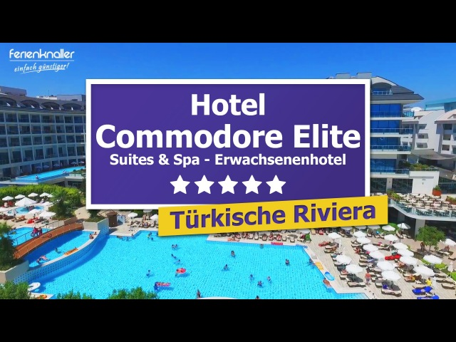 Commodore Elite Suites Spa 5*