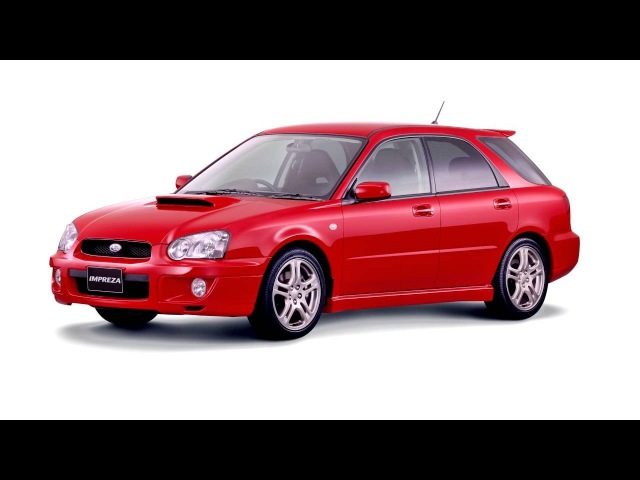 Subaru Impreza WRX Sport Wagon JP spec GGA '2003 05