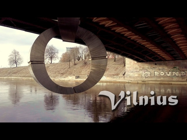 Circle in Vilnius. 7min flight in one unedited Shot [DJI Mavic Pro]