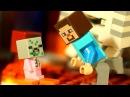 ЛЕГО НУБик и LEGO Minecraft 2018 Портал в Подземелье - Мультики для Детей Майнкрафт Мульт ...