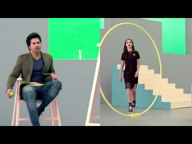 Making Of Varun Dhawan And Amy Jackson's Latest TVC Of Iconic Clothing