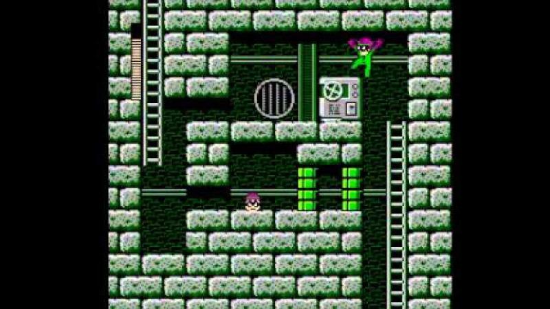 (Nintendo) Riddler's Escape From Arkham (Megaman 3 Rom Hack) Part 10 - Break Man Wily Stage 1