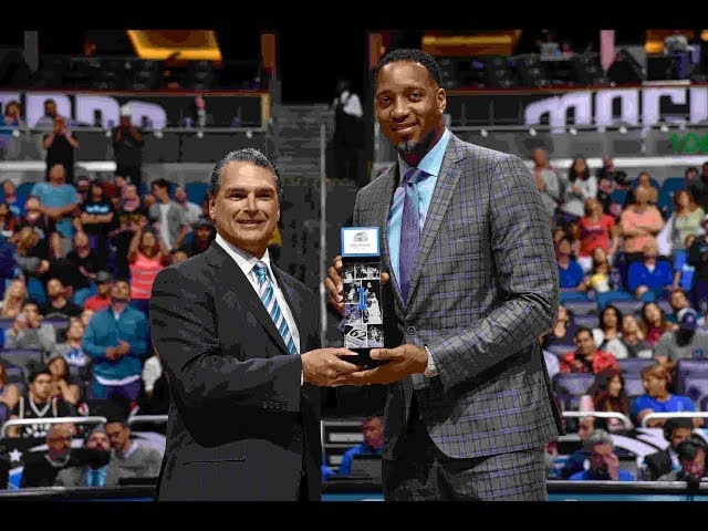 Tracy McGrady Is Forever Enshrined Into The Orlando Magic Hall Of Fame