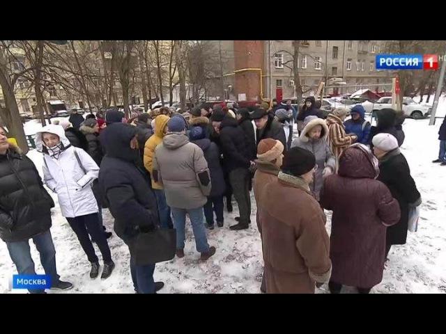 Вести.Ru: В тесноте и обиде: строители пытаются втиснуть высотку вплотную к старым домам