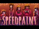 All the madotsukis speedpaint