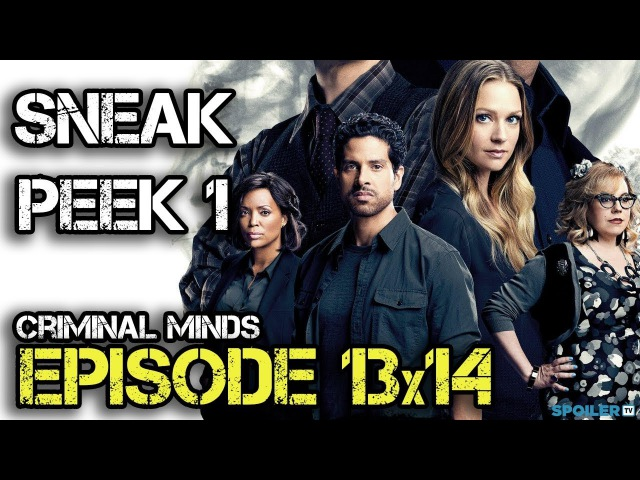 Criminal Minds 13x14 Sneak Peek 1