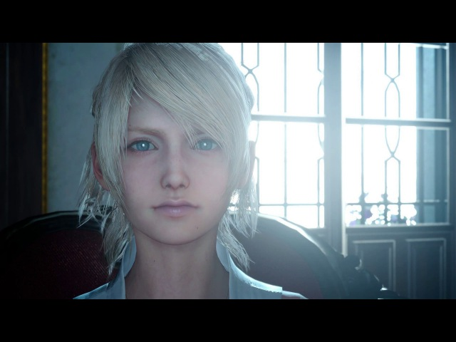 Final Fantasy XV - Into The Fray Camelia Claustra Lady Lunafreya I Am In Your Debt Cutscene PS4