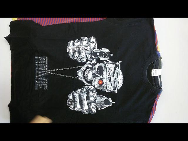 0303 T- Shirts Mens Extra (10 kg) 1пак - футболки мужские экстра Англия