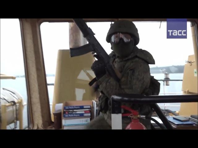 Как прошли антипиратские учения российских морпехов