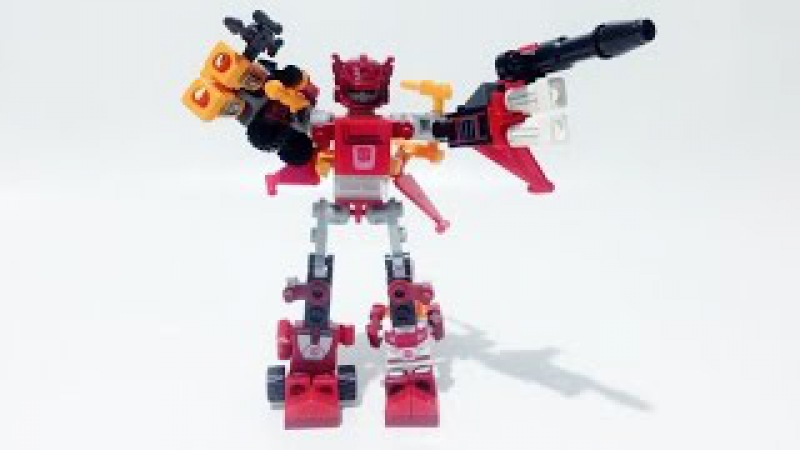 Kre-O Transformers Micro-Changers Combiners COMPUTRON A7307 Review - Unboxing, Build Play
