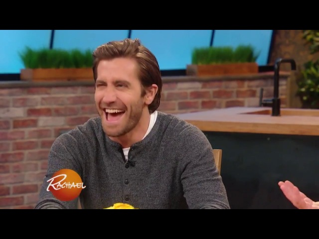 Jake Gyllenhaal Visits For the First Time, And Raves About Rach's Green Room Food | Rachael Ray Show