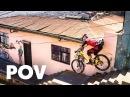 Tomáš Slaviks intense winning run at Red Bull Valparaíso Cerro Abajo 2018 Urban MTB