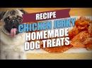 Chicken Jerky Homemade Dog Treats Recipe (Natural and Healthy)