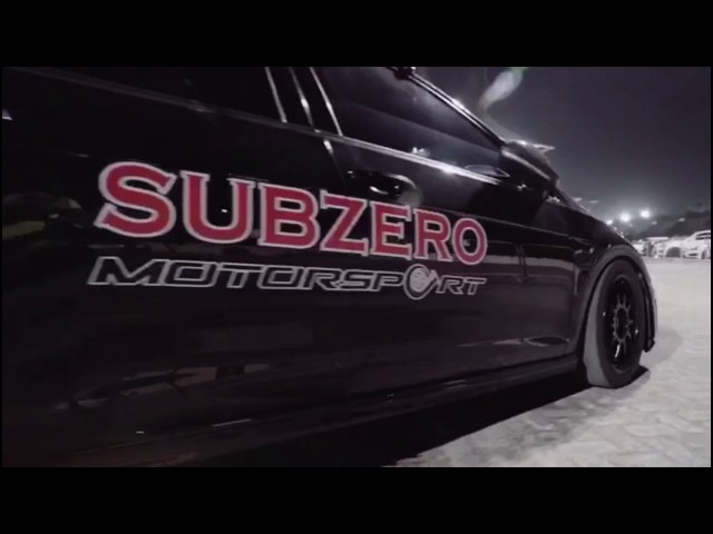 VW Golf 7R by Subzero Motorsport and Etuners - World record for stock IS38 turbo