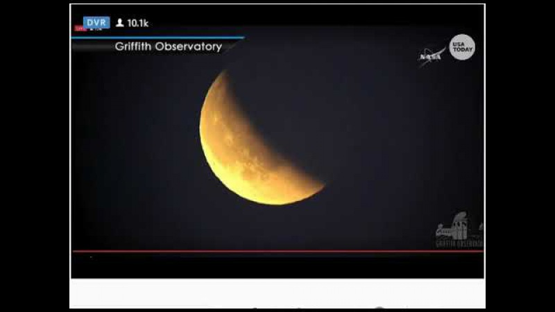 UFO Sighting During Blue Blood Moon Eclipse Live Stream? 1/31/2018