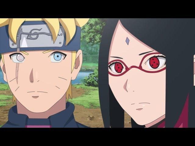 Boruto「AMV」 - Boruto Sarada and Naruto Sasuke - Believer