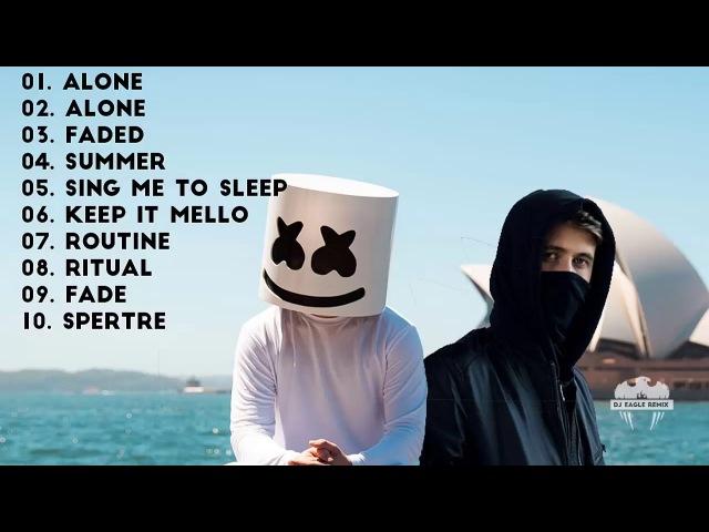 DJ Alan walker vs DJ Marshmello Mix Lagu Barat Terbaru 2017