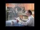 Ливень в Химках в жилом доме с чердака потекла вода