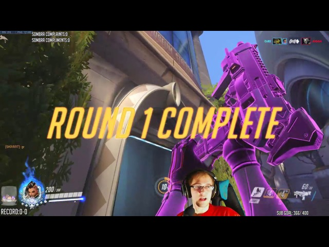 Top500 Sombra on Numbani - CHUCK IT D.VA