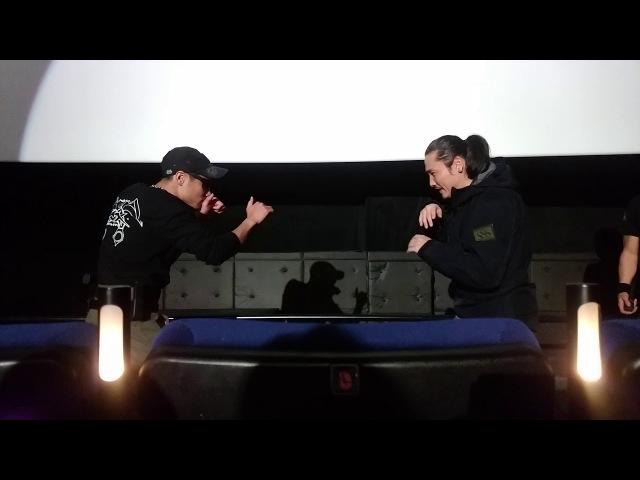 12/3『RE:BORN』タクティカルナイト@立川シネマシティ④ドロー&ウェイブ避123