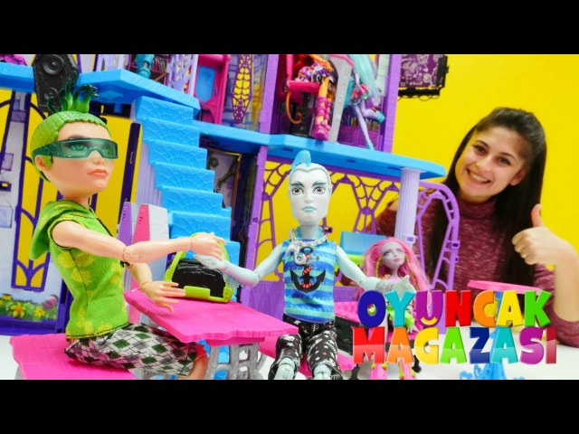 Ayşenin oyuncak mağazası - Monster High DEUCE Gorgon hoş geldin!