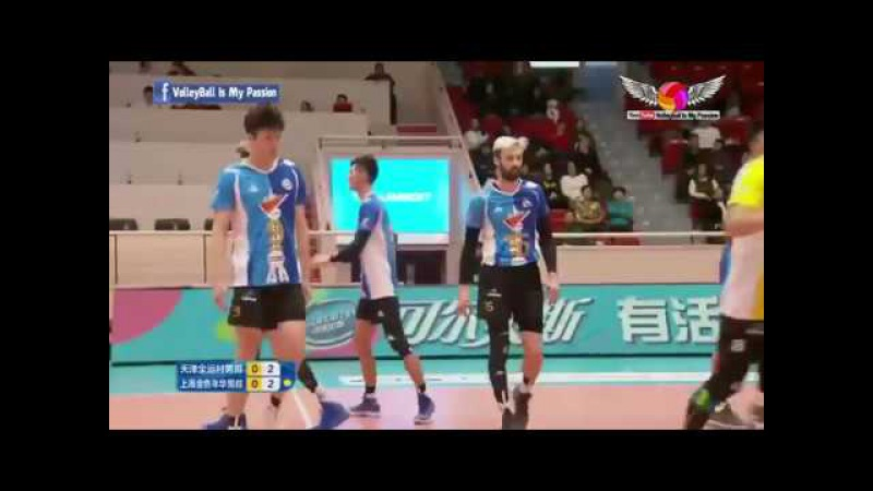 Tianjin (天津) vs Shanghai (上海) | 26-11-2017 | Chinese Men's volleyball super league 2017/2018