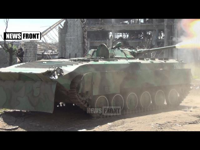 [18] ДНР. Бой в Донецком аэропорту ведет батальон «Сомали» 9 июня 2015