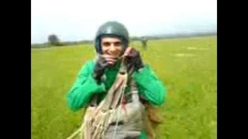 Birinci tullanish parasutla-My first parachute jumping