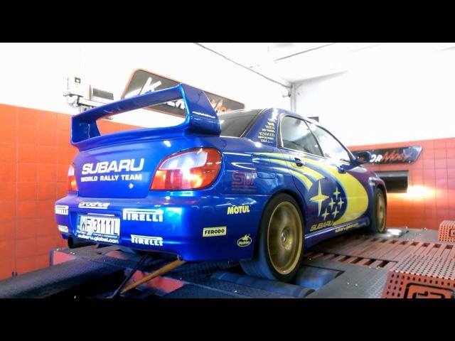 Subaru Impreza WRX 2.0T 2002y Dyno 282HP/381Nm @ 1.2 bar