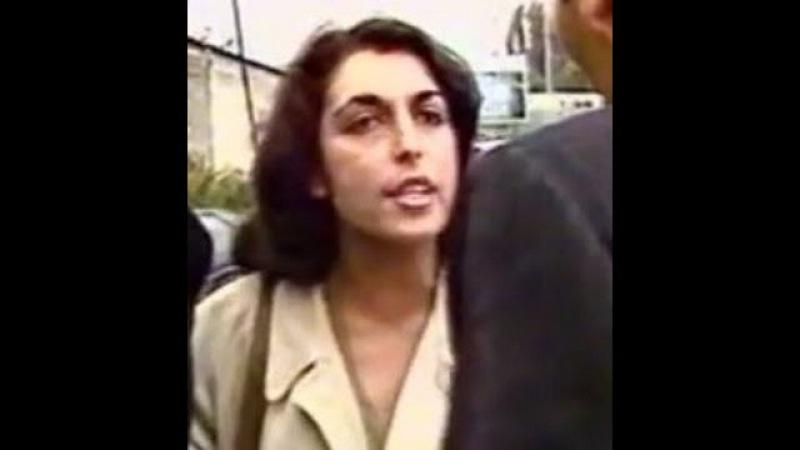 Ruth Elkrief se fait cracher dessus pendant un meeting FN 1984