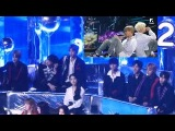 Wanna One and IU Reaction to BTS