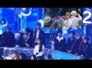 Wanna One and IU Reaction to BTS Spring Day @ MMA 2017