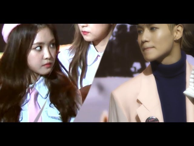Golden Disk Awards TaeminNaeun Moment | TAEUN [GDA 2016]