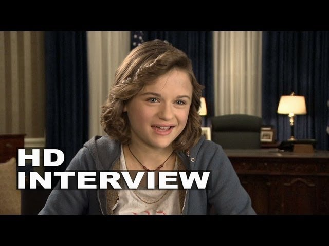 White House Down Joey King Emily Cale On Set Interview