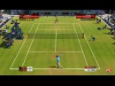 Roger Federer vs Rafael Nadal Wimbledon Virtua Tennis 3 4 game