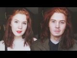 Female to Male Makeup Transformation || Genderbend