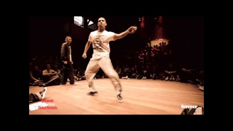 MOFAK vs CREESTO 2nd round Battles Popping Forever 2014
