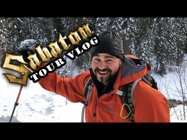 Sabaton Vlog - Signing sessions for ESP guitars and hiking impressions @ North American tour 2018