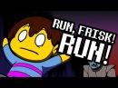 UNDERTALE animation - RUN! - step-by-step