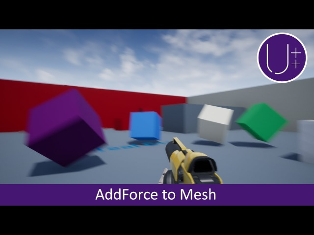 Unreal Engine 4 C Tutorial: Add Force to Static Mesh