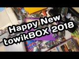 Распаковка #44 Новогодний TowikBOX. Ретро игры и комикс