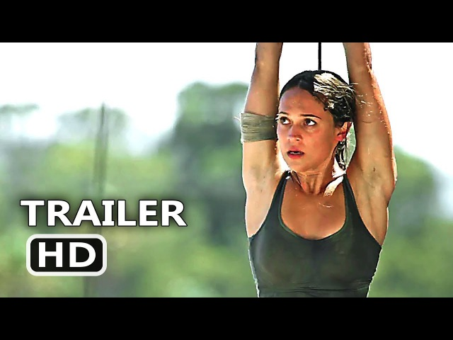TOMB RAIDER Trailer EXTENDED (2018) Lara Croft Movie HD