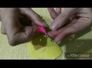 Как сделать иглу для ковровой вышивки How to make a needle for carpet embroidery