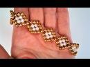 Easy bracelet pattern. Beginners tutorial.