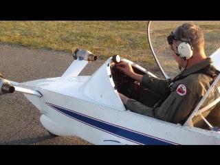 Самый маленький реактивный самолёт - Colomban CriCri