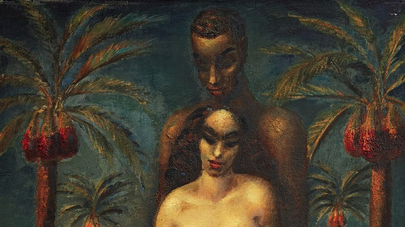 Expert Voices Mahmoud Said's Sumptuous and Surreal Adam and Eve