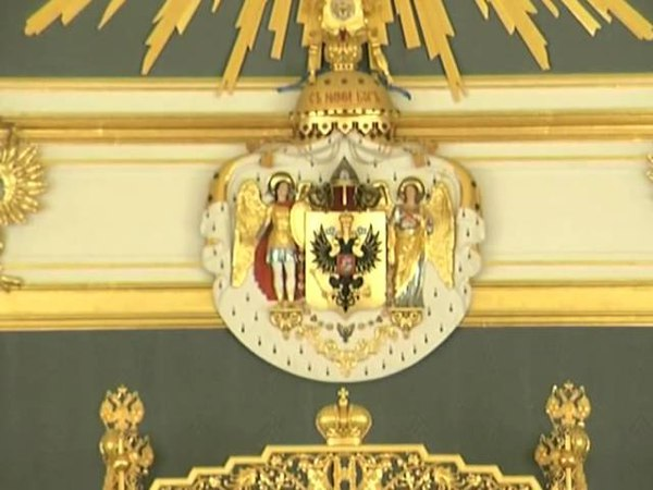 Коронация Николая II - Coronation of Tzar Nicholas II (by V.Motsardo)