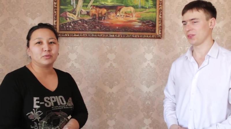 В гостях у пайщика кооператива Алтын Шатыр Жангабыловой Индиры